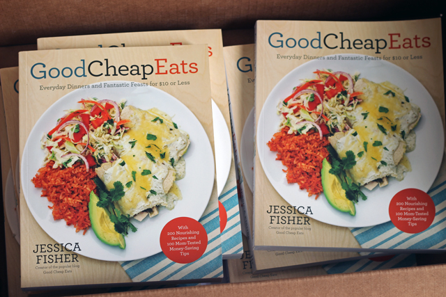 Get the Book - You can eat well on any budget. Grab a copy of my new book, Good Cheap Eats.