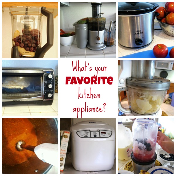 Favorite Kitchen Appliances - Having the right tools for the job can make any kitchen task more fun.