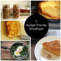 Budget-Friendly Breakfasts