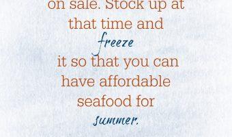 Good Cheap Eats Tip for Saving on Seafood   Good Cheap Eats