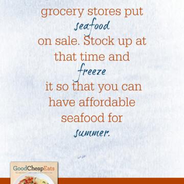 Good Cheap Eats Tip for Saving on Seafood | Good Cheap Eats