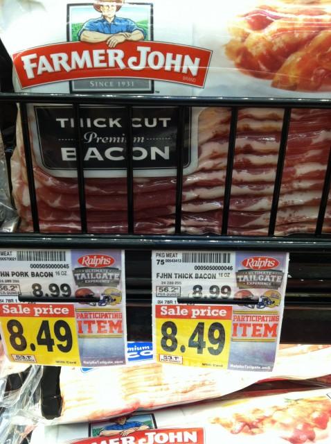 bacon prices