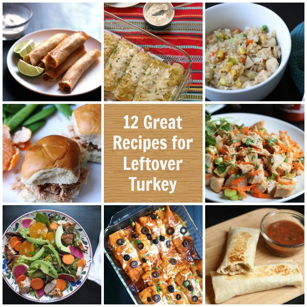 12 Great Recipes To Use Leftover Turkey Good Cheap Eats