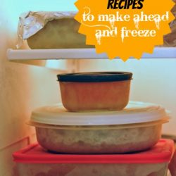Thanksgiving Recipes to Make-Ahead and Freeze