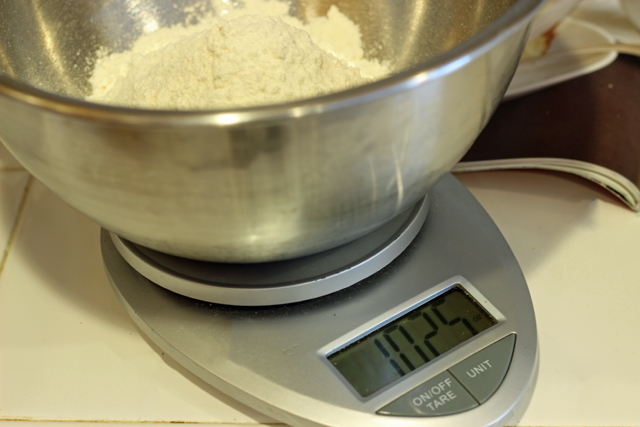 How to Measure Flour Properly - The proper way to measure flour involves weights, not measures. And... you may be doing it wrong.