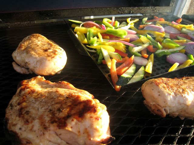 Chicken-on-Grill
