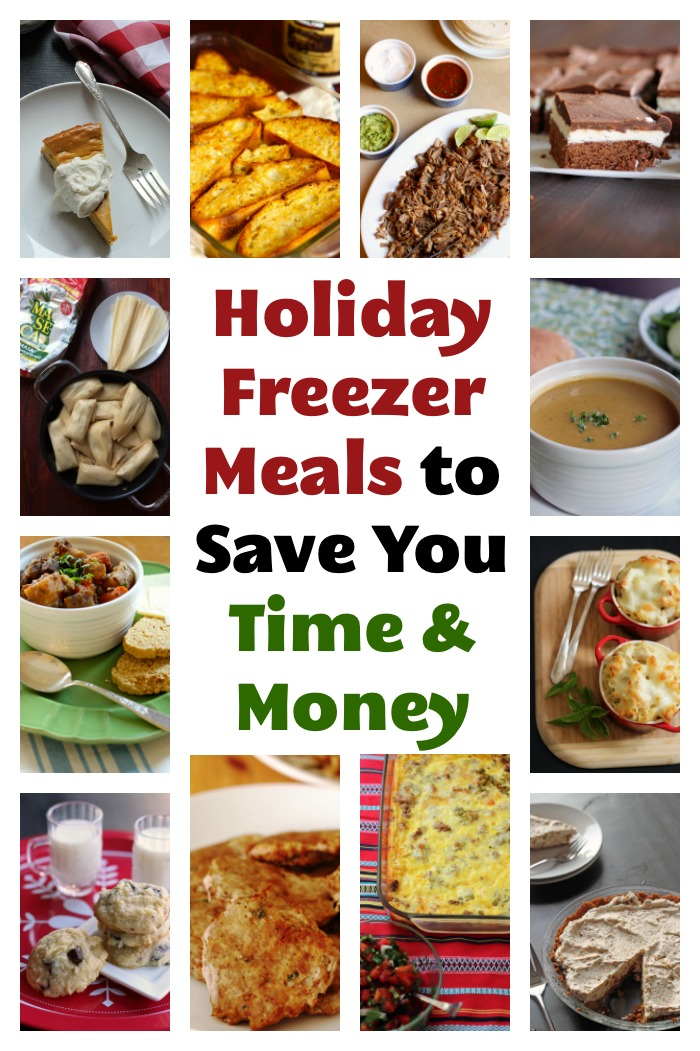 Holiday Freezer Meals