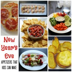 New Years Appetizers that Kids Can Make