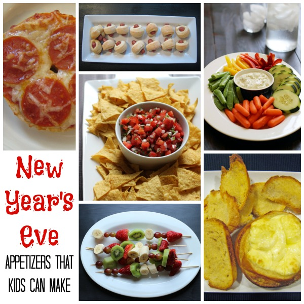 New year 39 s appetizers that kids can make for What to make for new years eve dinner