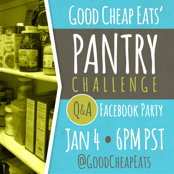 Join Me for a Pantry Challenge - Challenge starts January 4, 2015.
