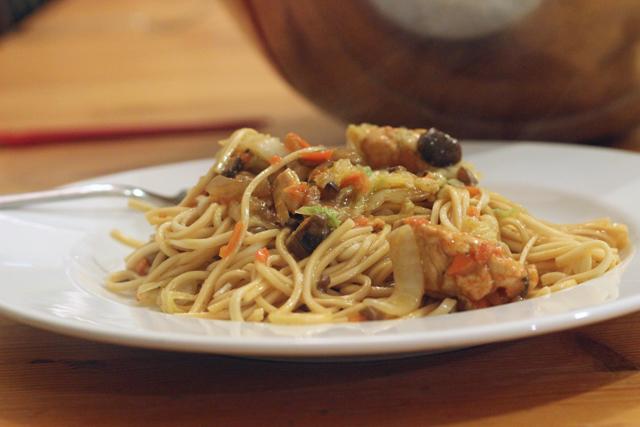 Chicken Noodle Stirfry
