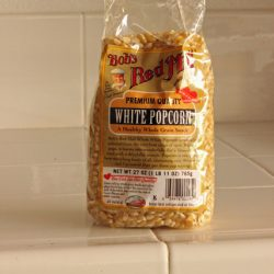 Real Food Products We Love: Bob's Red Mill White Popcorn