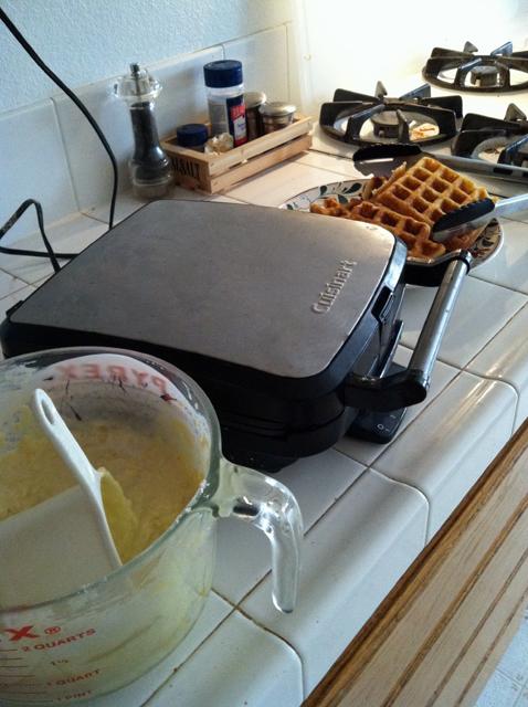 Waffles pantry