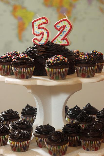 celebrating 52 birthday