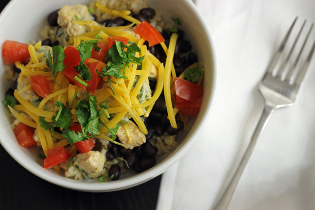 Cilantro Chicken Bowls resized
