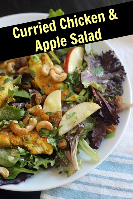 Curried Chicken and Apple Salad | Good Cheap Eats