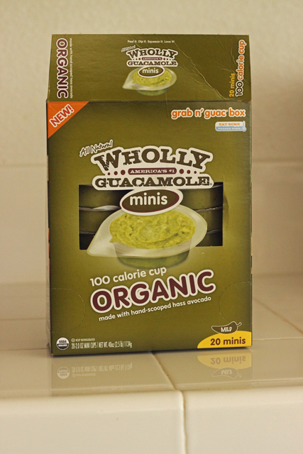 Organic Wholly Guacamole Packs