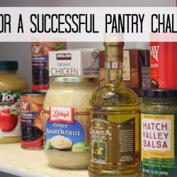 Tips for a Successful Pantry Challenge