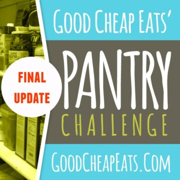 Final Update for Pantry Challenge