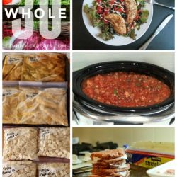 whole 30 freezer cooking plan