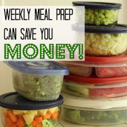 Weekly Food Prep featured