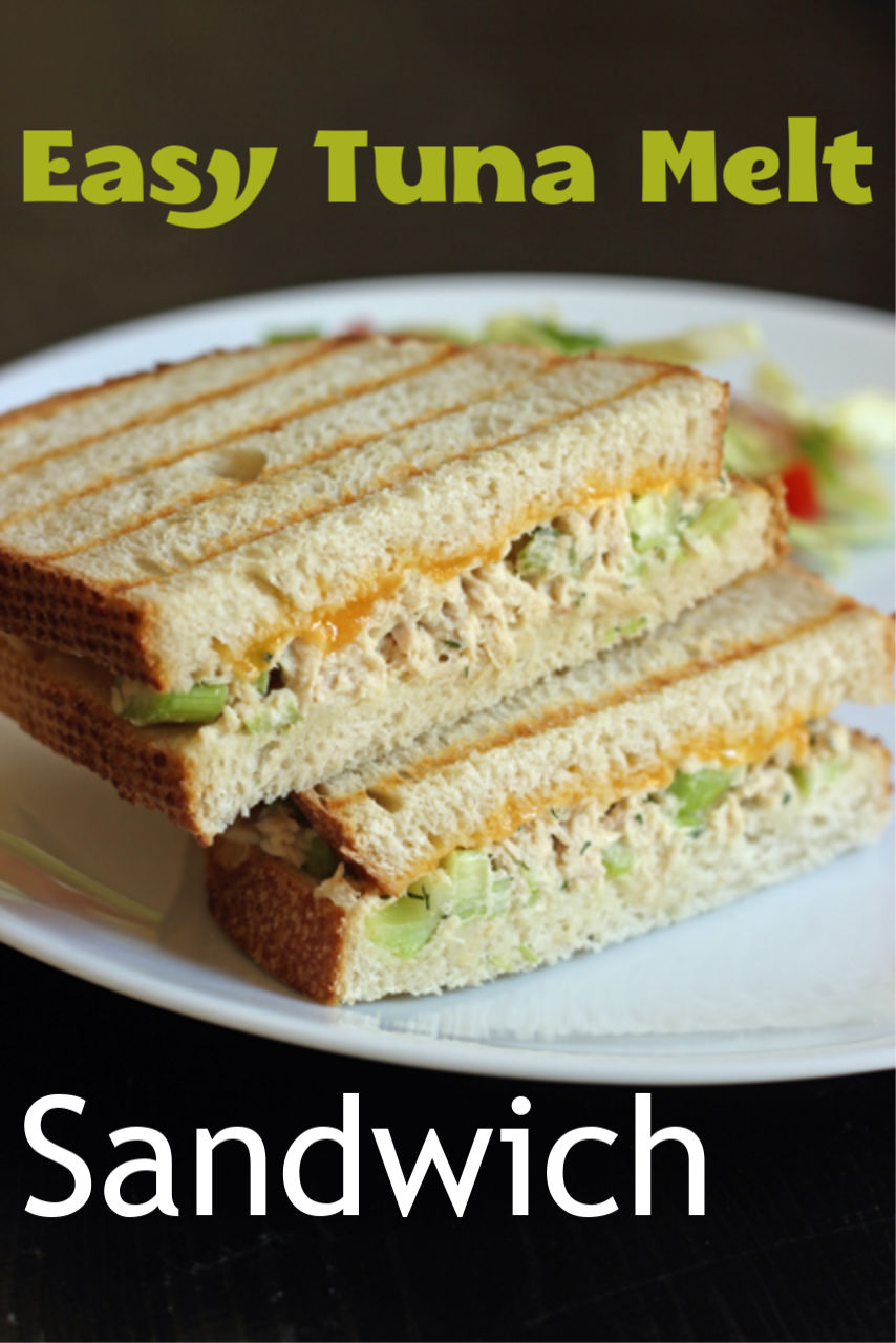 Easy Tuna Melt Sandwich