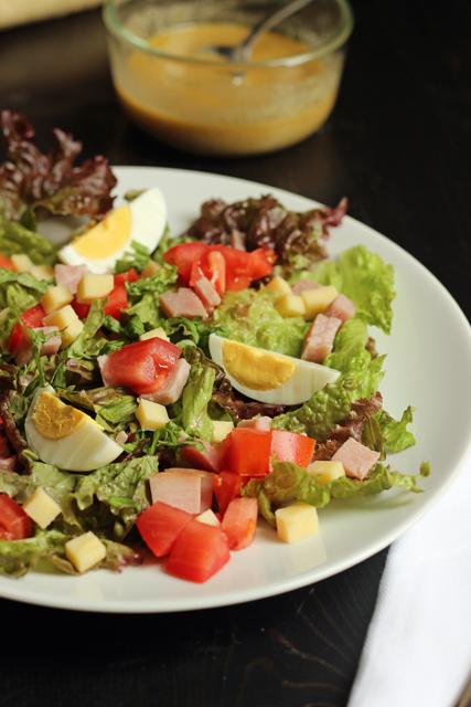 Ham and Cheese Salad | Good Cheap Eats