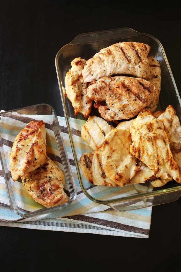 grilled chicken for meal prep