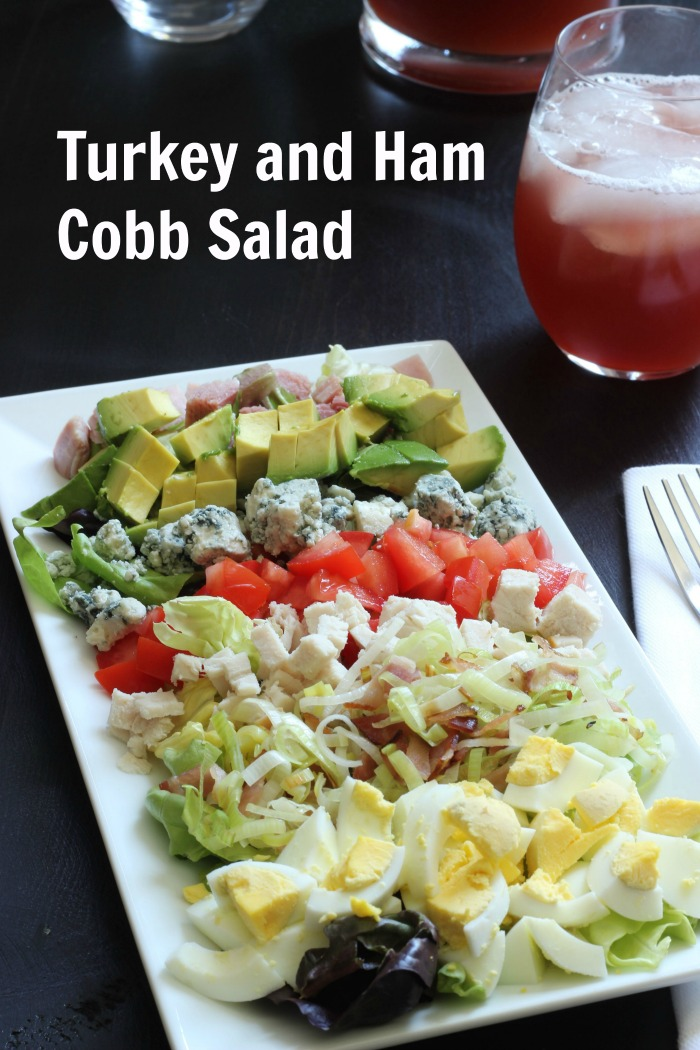 Turkey and Ham Cobb Salad | Good Cheap Eats