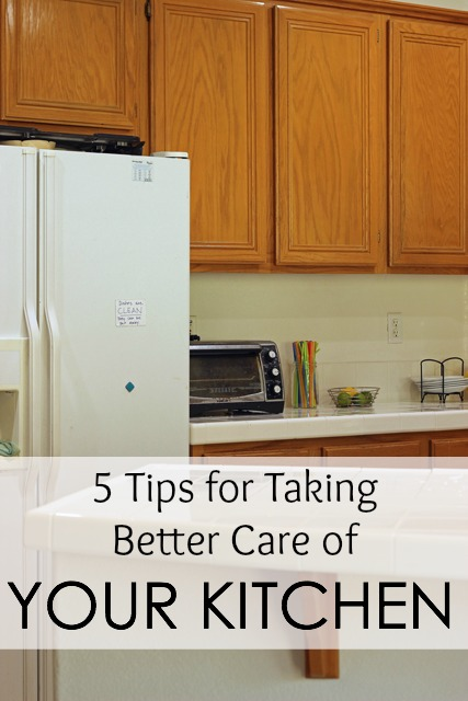 5 Tips for Taking Better Care of Your Kitchen