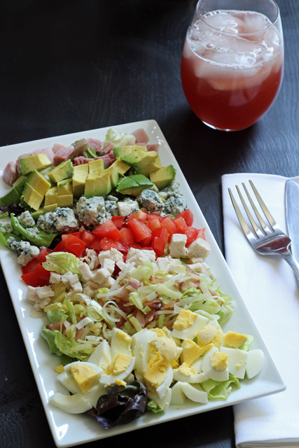 Turkey and Ham Cobb Salad