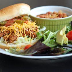 taco joe's beans salad