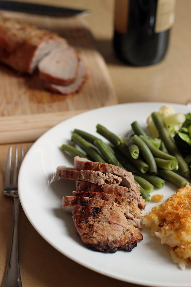 Dijon Pork Tenderloin
