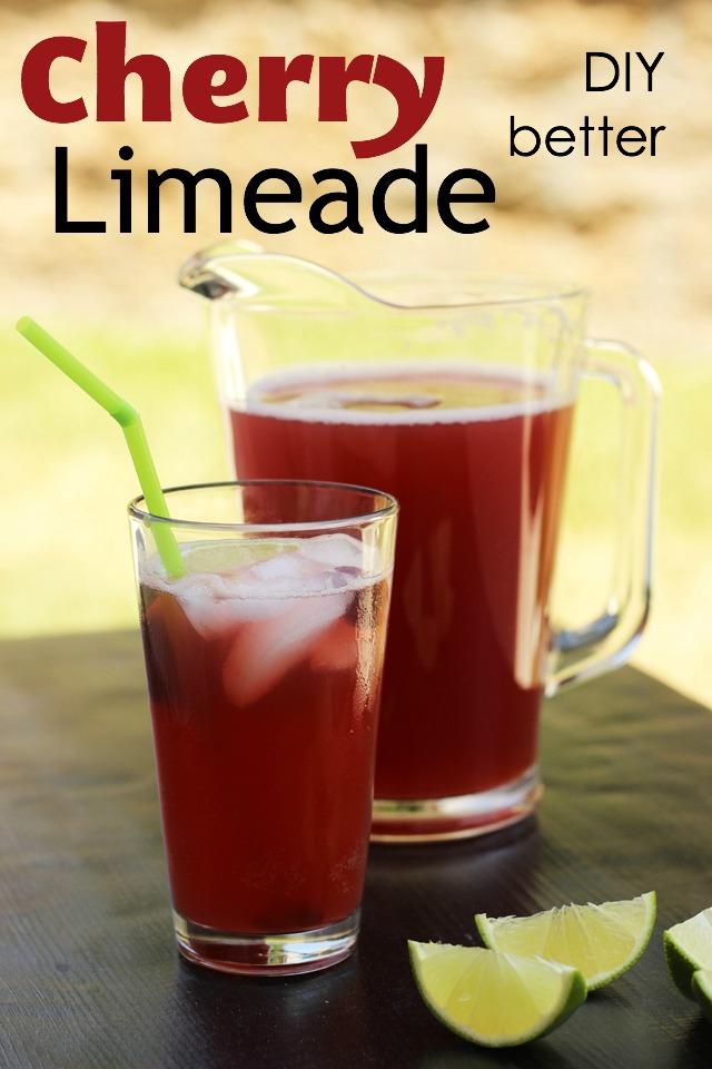 Cherry Limeade | Good Cheap Eats