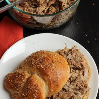 Best Ever Slow Cooker Pulled Pork (VIDEO)