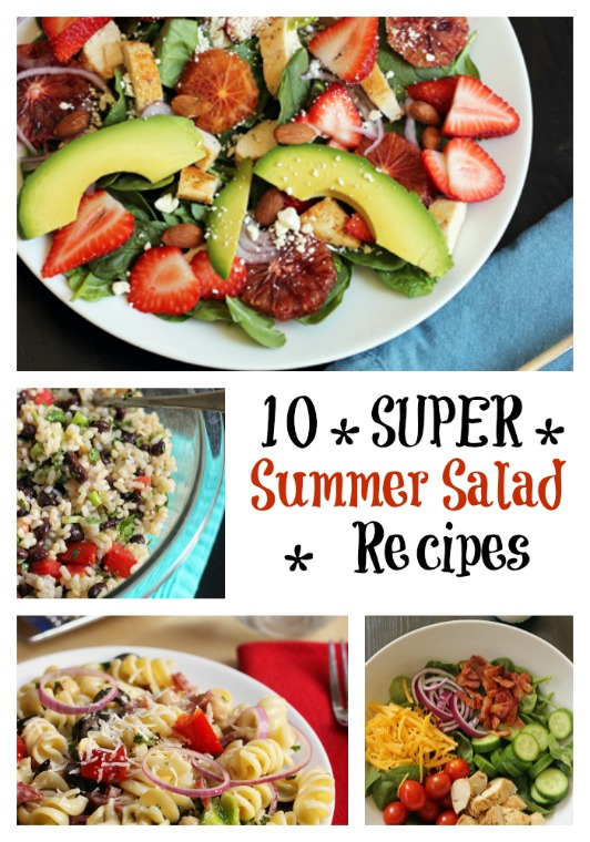 10 Super Summer Salad Recipes