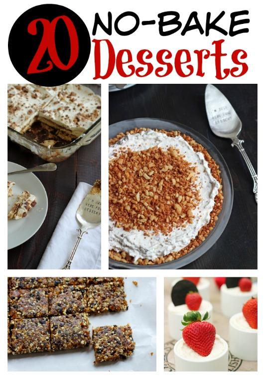 20 No-Bake Desserts