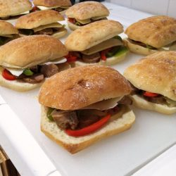 Italian Sausage Sandwiches for the Freezer