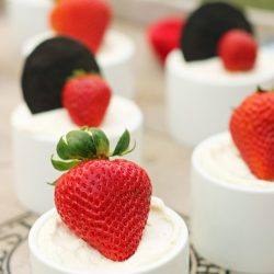 Strawberry Chocolate Icebox Cakes