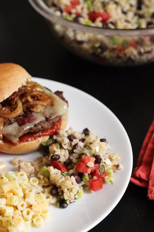 Rice and Black Bean Salad | Good Cheap Eats