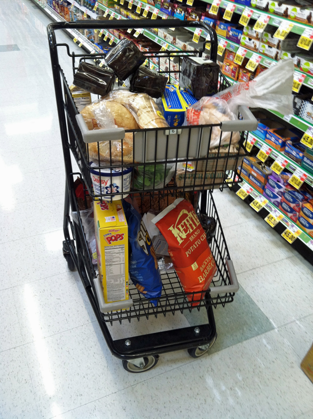 Grocery Geek June, Week Two - Want a peek into our grocery cart? Here's how I'm grocery shopping and feeding eight people on the cheap.