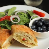 Cheesy Italian Sausage and Pepper Sandwiches