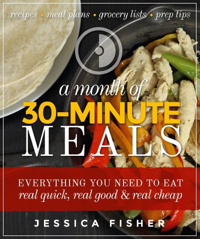 cover of 30 minute meals plan