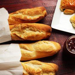 baguette for petit dejeuner