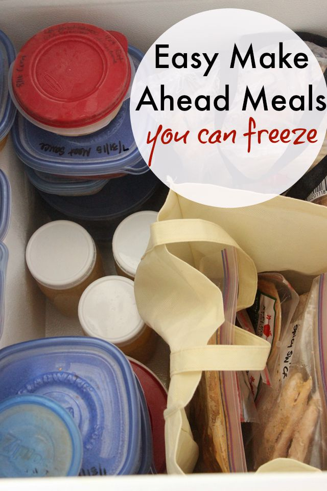 easy make-ahead meals you can freeze