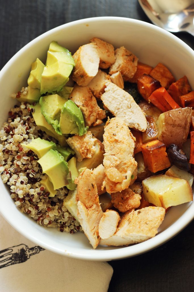 Quinoa Chicken Bowl (2)