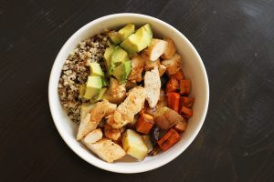 Quinoa Chicken Bowl