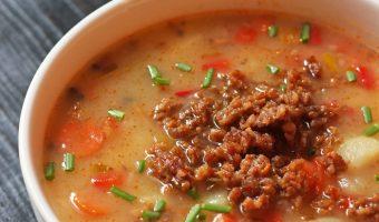 Sausage and Potato Soup | Good Cheap Eats