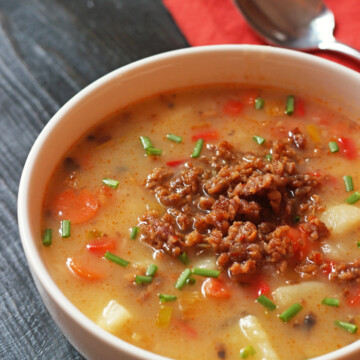 Sausage and Potato Soup | Good Cheap Eats