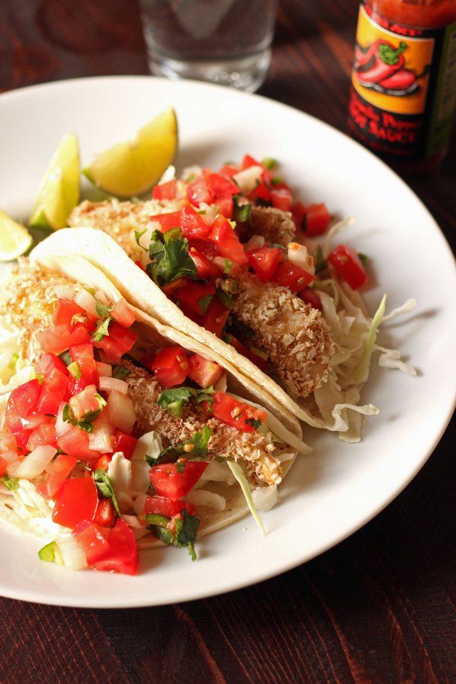 Grilled Shrimp or Fish Tacos